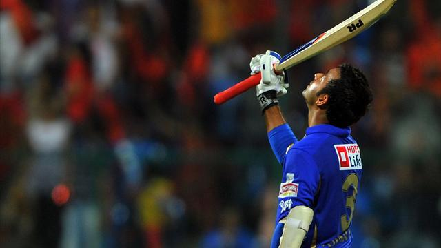 Champions League T20 - Rajasthan beat Super Kings to reach final