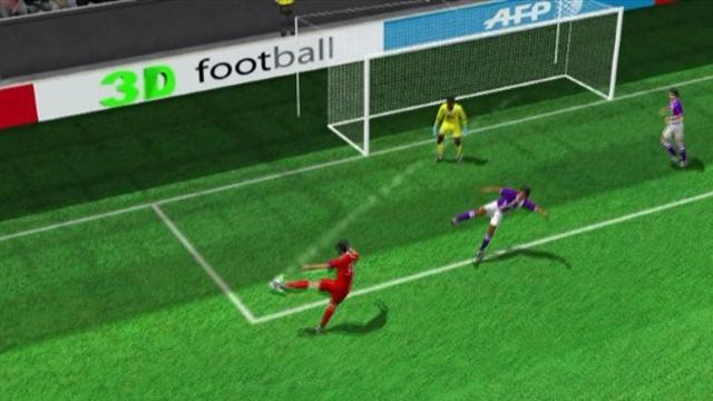 Pastore's goal for PSG in 3D