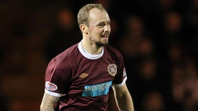 Scottish Premiership - Hearts end week on winning note
