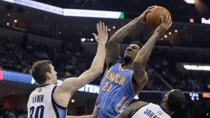 Randolph, bench lead Grizzlies past Nuggets 120-99