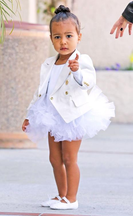 Happy 2nd Birthday,   North West ! We're celebrating with her cutest pictures EVER.