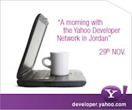 A morning with Yahoo! Developer Network in Jordan