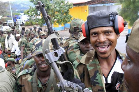 DR Congo fighters jubilant after taking Goma