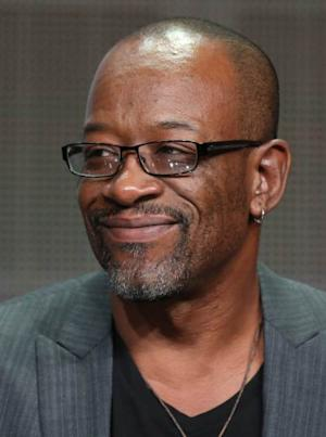 Lennie James speaks onstage during the 'Low Winter Sun' panel discussion at the AMC portion of the 2013 Summer Television Critics Association tour - Day 3 at the Beverly Hilton Hotel on July 26, 2013 -- Getty Images