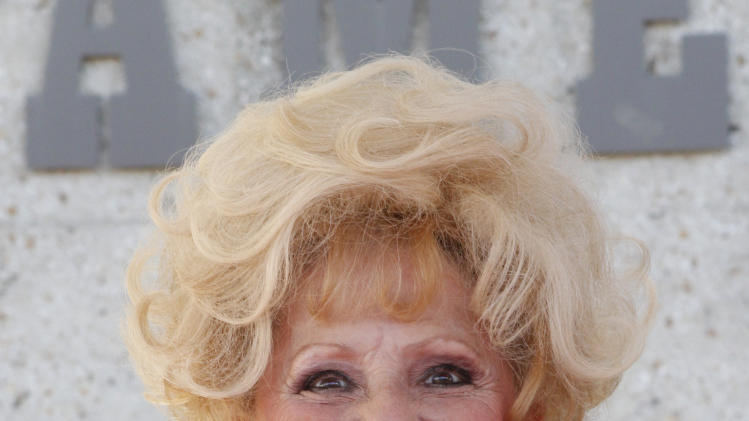 Brenda Lee attends the Country Music Hall of Fame Inductions on Sunday, Oct. 21, 2012 in Nashville, Tenn. (Photo by Wade Payne/Invision/AP)