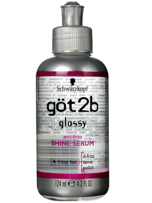 Got2b Glossy Anti-Frizz Shine Serum, $5.95