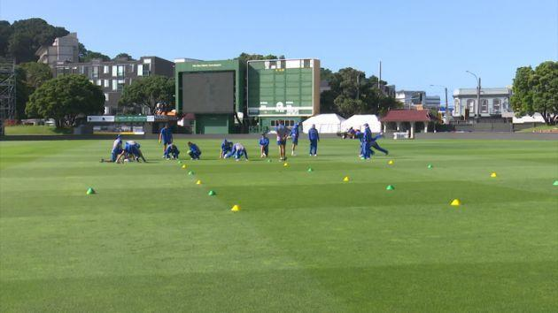 Raw: Australian cricket team training