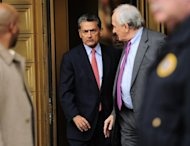 The trial of the biggest suspect in a big US crackdown on Wall Street insider trading, former Goldman Sachs director Rajat Gupta (C), pictured in 2011, has started in New York