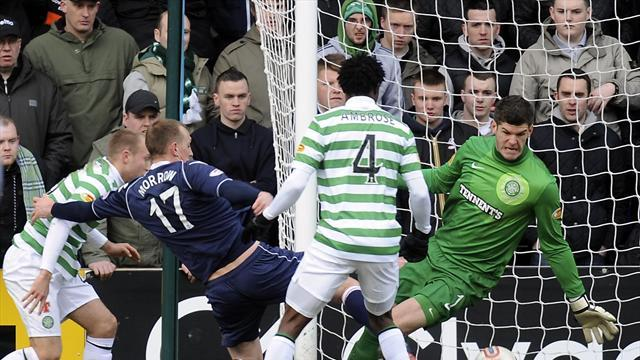 Scottish Football - Celtic stunned by County fightback