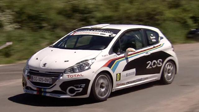 Peugeot 208 type R5 for Paris unveiling