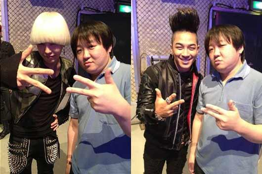 G-Dragon and Taeyang Post Photos with Japanese Jung Hyung Don