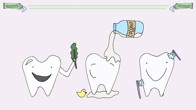 KQED FOOD:   Touché Tooth Fairy: An Illustrated Guide to Food-Based and Holistic Oral Health Hint - Two words: Coconut Oil. Read more