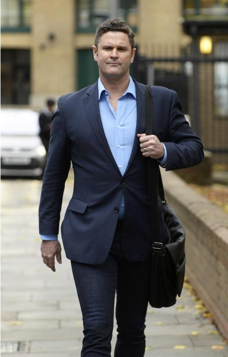 Former New Zealand cricket captain Chris Cairns arrives at Southwark Crown Court in London