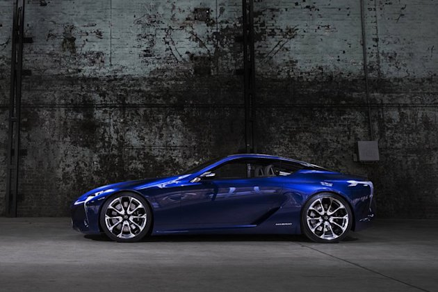 lexus lf lc super coupe photo