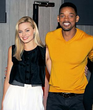 Will Smith, Margot Robbie Step Out Together at Film Event Weeks After Cheating Rumor