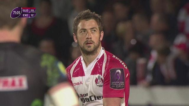 Gloucester beat Exeter 30-19 to reach ERCC final
