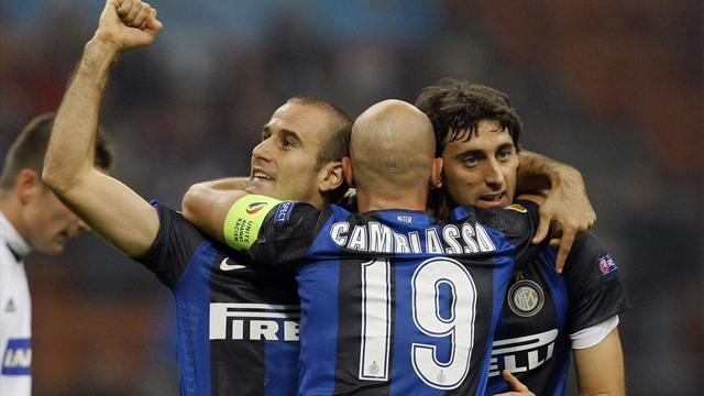 Europa League - Last-gasp win for Inter, Atletico remain on course
