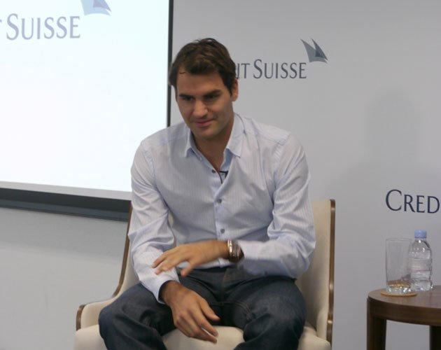 Roger Federer says he still remains passionate about tennis. (Yahoo! photo)