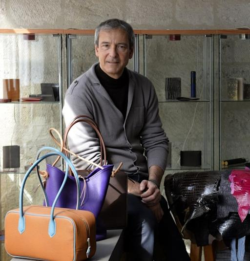 Bags with logos too last century for Paris craftsman