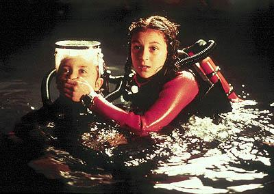Daryl Sabara and Alexa Vega in Dimension's Spy Kids
