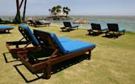 File photo shows a resort pictured near Suva, Fiji on December 9, 2006. Fiji's military government on Tuesday condemned a trade union publicity campaign aimed at international tourists that seeks to debunk the idea that the nation is a tropical paradise