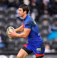 Richard Mathers was one of four Wakefield try scorers in their victory