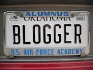 The Key to Writing Great Blog Posts image BloggerLicensePlate 300x2254