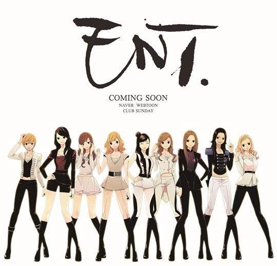 ENT to Create SNSD Webtoon
