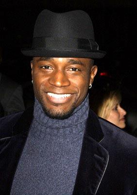Premiere: Taye Diggs at the LA premiere of Miramax's Chicago - 12/10/2002