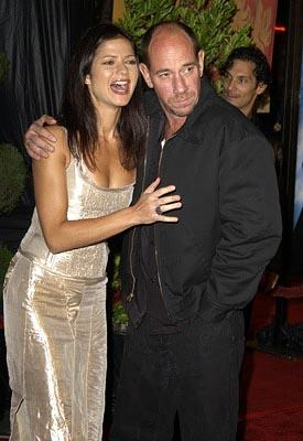 Premiere: Jill Hennessy and Miguel Ferrer at the Hollywood premiere of Warner Brothers' Harry Potter and The Chamber of Secrets - 11/14/2002