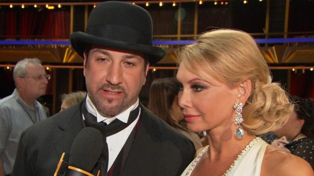Joey Fatone and Kym Johnson chat with Access Hollywood after their elimination on 'Dancing With The Stars: All Stars' on October 2, 2012 -- Access Hollywood