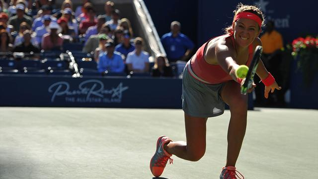 US Open - Gallant Azarenka feels pain of defeat once more