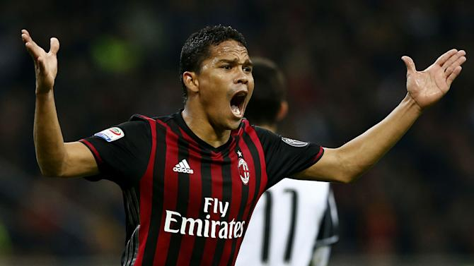 Bacca has no case to answer for Sevilla trip - Montella