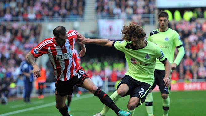 Boss Alan Pardew hailed Fabricio Coloccini's, pictured, performance as 'one of the best'