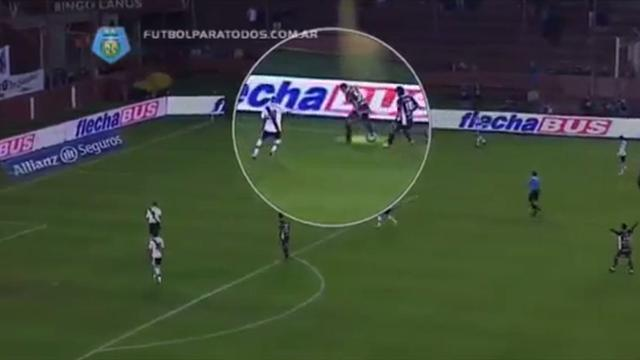 South American Football - River title challenge ended by Lanus thrashing