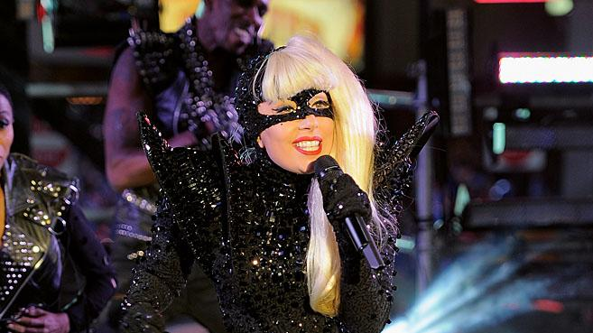 Lady Gaga New YorkNYE