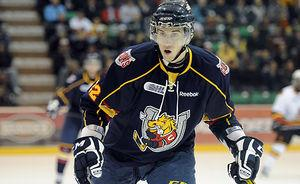 Barrie Colts' Gregg Sutch stuck on the sidelines