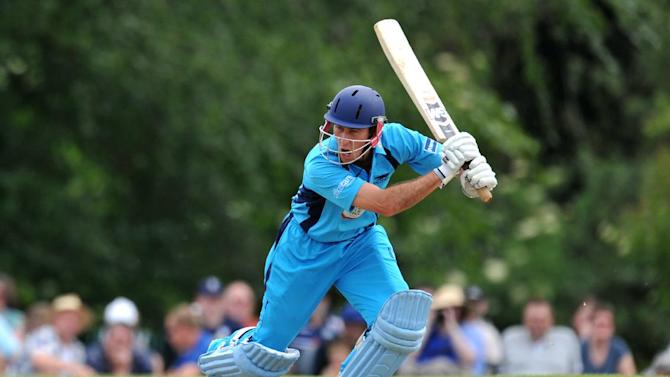 Wayne Madsen provided some resistence for Derbyshire against Northants