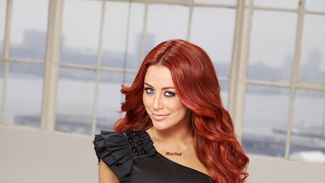 """Aubrey O'Day competes in the 12th season of """"The Celebrity Apprentice."""""""