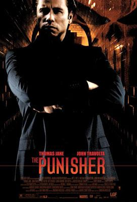 John Travolta in Artisan Entertainment's The Punisher