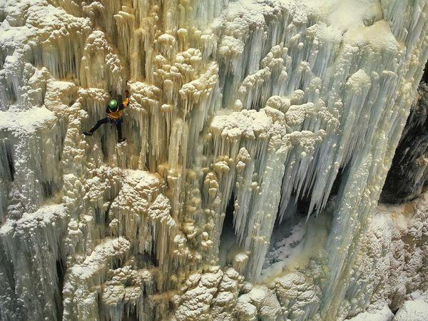 Limestone and Icicles