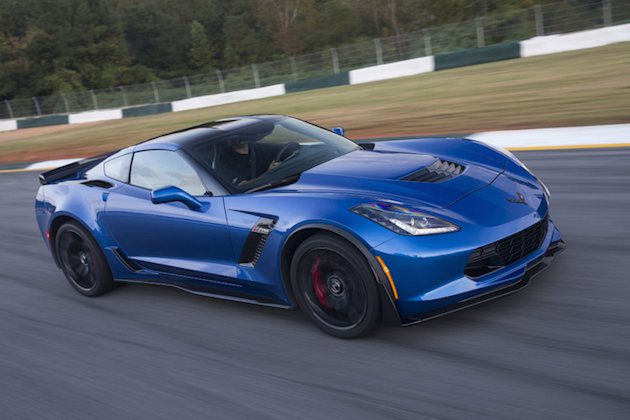 Chevrolet Corvette Z06 track photo
