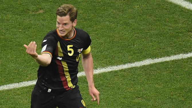 World Cup - Belgium beat South Korea, top group with perfect record