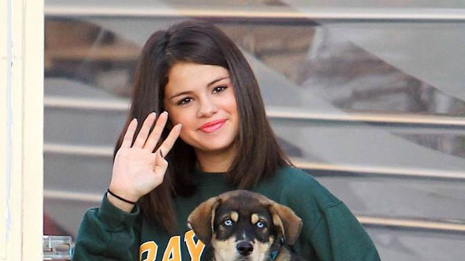 Selena Gomez Adopted Puppy