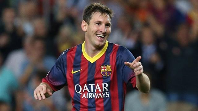 Liga - Barcelona boss Martino 'not worried' by Messi form