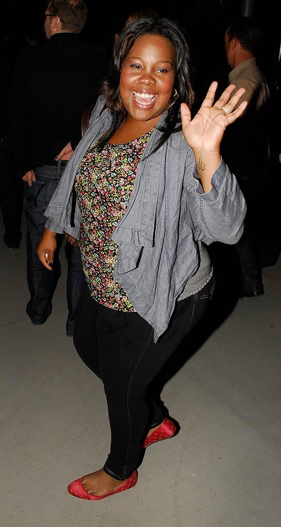 Amber Riley Adele Cncrt