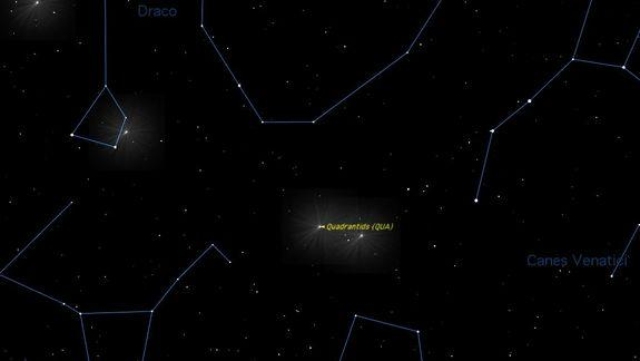 First Meteor Shower of 2013 Peaks This Week