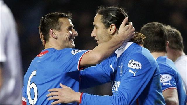 Scottish Football - Rangers keep rolling at Ibrox
