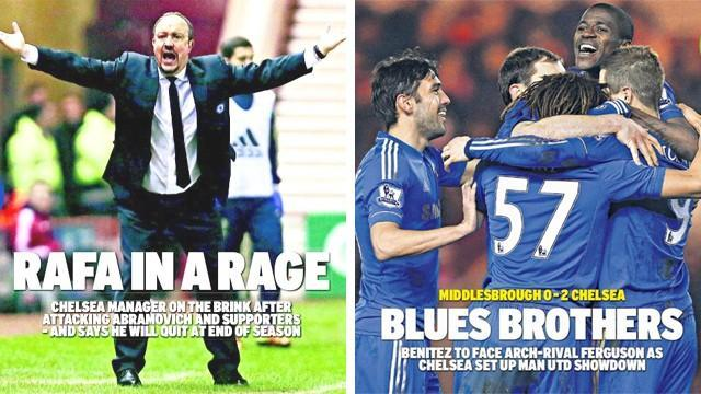 Premier League - Paper Round: Rafa rewrites the headlines