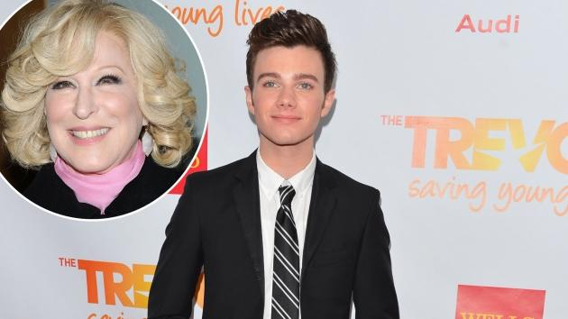 Chris Colfer / Better Midler -- Getty Images